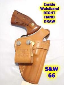 "#3 BIANCHI IWB Gun Holster S&W K Frame 10 12 15 19 64 66 2.5"" 3"" RUGER GP100 &"