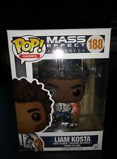 Funko POP! Mass Effect Andromeda - Liam Kosta #188 [BRAND NEW]