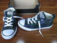 NEW Converse Woolrich Chuck Taylor All Star Hi Top Shoes Boys 1 Almost Black $50
