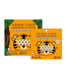 SNP Animal Tiger Warming Eye Mask/5pcs(Comfort Sleep)US-Seller+Free Gift &Sample