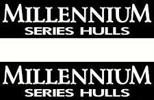 Quintrex Millennium Series Hulls Sticker Decal Set
