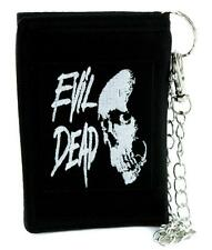 Evil Dead Demon Skull Tri-fold Wallet Horror Clothing Cult Classic Movie Zombie