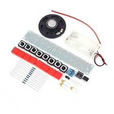 Durable DIY Kit NE555 Component Electronic Piano Organ Module with Battery Box