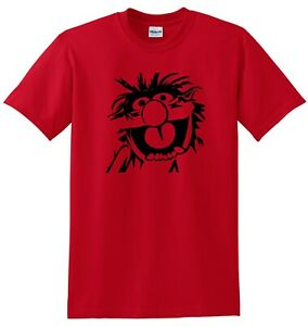 Animal Drummer The Muppets 80s TV Show T-shirt