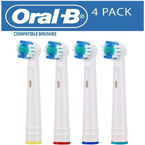 ELECTRIC TOOTHBRUSH HEADS COMPATIBLE WITH ORAL B TOOTHBRUSH REPLACEMENT HEAD