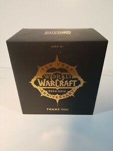 World of Warcraft Orc Wolf Rider Statue 10th Year Anniversary New NEVER OPENED