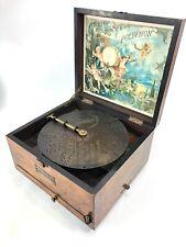More details for original vintage polyphon, max schonhueb berlin n. 39 fully working lovely sound