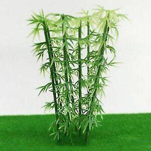 50pcs Miniature Bamboo Model 12CM Green Scale Bamboo Mini Artificial Bamboo