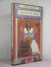 signed by publisher, Heart of the World by H Rider Haggard (1976,TPB) lost Mayan