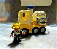 Lego Duplo aus Flugzeug Flughafen Set Jet Fuel Truck Tankwagen LKW aus 7842