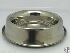 Puppy Dog Weaning Whelping bowl Small set of 6 assorted stainless steel (24941)
