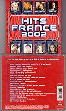 CD HITS FRANCE 2002 20T ZAZIE/GAROU/DION/NOAH/LAVOINE/LORIE/BOULAY/KAAS/OBISPO