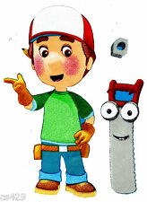 "8"" Handy manny tools saw wall safe fabric decal cut out character"