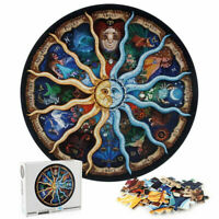 12 Constellations Zodiac Puzzle-1000 Pieces Jigsaw CHALLENGING