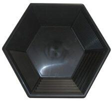 Goldwaschpfanne - JOBE Hex Pan 15'' - 37,5 cm schwarz Goldwaschen Waschpfanne