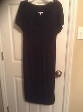 Motherhood Maternity Black Night Gown XL & Liz lange maternity black dress XXL