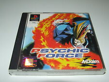 PYSCHIC FORCE BY ACCLAIM for playstation PS1 (PAL) GOOD COMPLETE CONDITION!