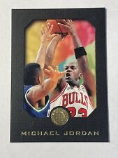 1995-96 E-XL Skybox Michael Jordan Card #10 Black Border Mint!!! HOF Bulls