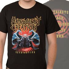 MALEVOLENT CREATION-RETRIBUTION-T-SHIRT-SMALL-rare