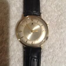 Jaeger  LeCoultre vintage memovox 10ct gold filled mens watch