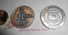 St. Saint Michael the Archangel - Serve and Protect - Pocket Coin