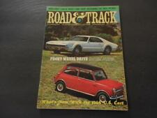 Road & Track Nov 1965 Front Wheel Drive (Gasp!); Mercedes 230-SL        ID:20908