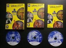 3 JEUX PC CD-ROM Disney Pixar Greatest Hits HEROS (TARZAN  TOY STORY 2  ALADDIN)