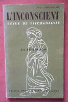 L'Inconscient Revue de Psychanalyse * La Perversion * P.U.F 1967