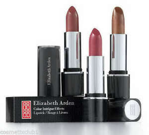 ELIZABETH ARDEN COLOR INTRIGUE EFFECTS LIPSTICK BOXED - YOU CHOOSE THE SHADE!