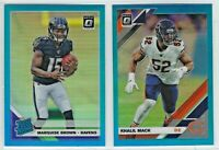 2019 Donruss Optic Football AQUA Prizm Parallels /299 Complete Your Set You Pick