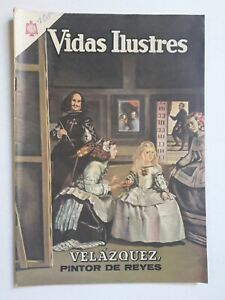 VELÁZQUEZ - VIDAS ILUSTRES #108 - ORIGINAL COMIC IN SPANISH - MEXICO - NOVARO
