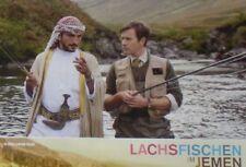 SALMON FISHING IN THE YEMEN - Lobby Cards Set - Emily Blunt Kristin Scott Thomas