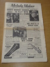 MELODY MAKER 1954 JUNE 26 RONNIE SCOTT BBC JIMMY DEUCHAR SAPPHIRES PALLADIUM +