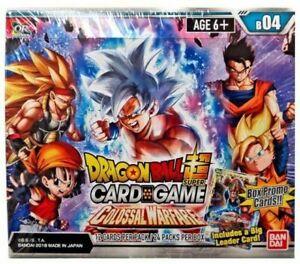 NEW SEALED Dragon Ball Super Colossal Warfare Series 4 Booster Box