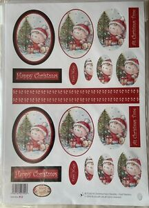 CHRISTMAS FAIRY DOODLES OVAL STACKERS