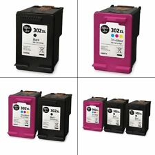HP 302XL Black & Colour Ink Cartridges - Remanufactured for HP Printers