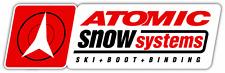 "Atomic Snow Systems Ski Snowboard Car Bumper Window Sticker Decal 8""X2"""