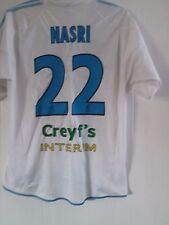 Olympique Marseille 2004-05 Match Worn Nasri Home Football Shirt Size XL /41572