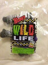 """2000 Wendy's Kids Meal - Wild Life  """"ZEBRA W/KEY RING"""" NEW & SEALED"""