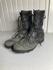 Vintage U.S. Military Jungle Boots RO Search Spike Protective Mens 10 1/2 W USA