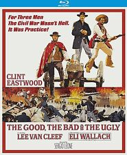 THE GOOD BAD & UGLY (50th anniversary) - BLU RAY - Region A - Sealed