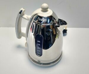 Dualit Kettle 1.5L Canvas White Model JKT43 Used RRP £74.99 READ