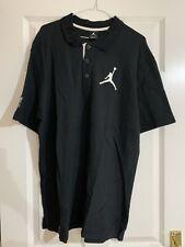 NIKE Jordan Black Polo - Size XL *BRAND NEW & GENUINE*