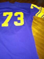 Los Angeles Rams Jersey 1960's style size 44 short sleeve nylon durenne durene