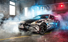 """NISSAN 370Z NISMO GUMBALL A4 CANVAS PRINT POSTER 11.7""""x7.6"""""""