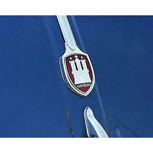 Hamburg VW Volkswagen Hood Crest split kdf bug Zwitter cox T1 oval heb beetle