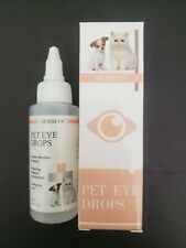 Cat Dog Eye Drops Tear Stains, Eye Discomfort, Irritation & Redness for Pet  2oz