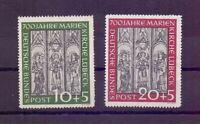 Bund 1951 - Marienkirche - MiNr. 139/140 postfrisch** - Michel 220,00 € (020)