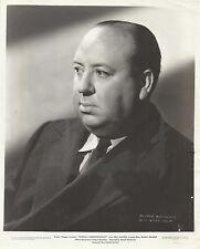 "ALFRED HITCHCOCK in ""Foreign Correspondent"" Original Vintage Photo PORTRAIT 1940"