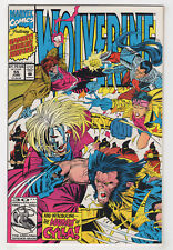 Wolverine #55 (Jun 1992, Marvel) [Gambit, Sunfire & Jubilee] Marc Silvestri -p
